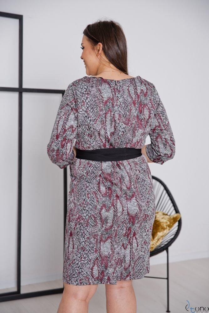 Sukienka LARIZ Plus Size Wzór 3
