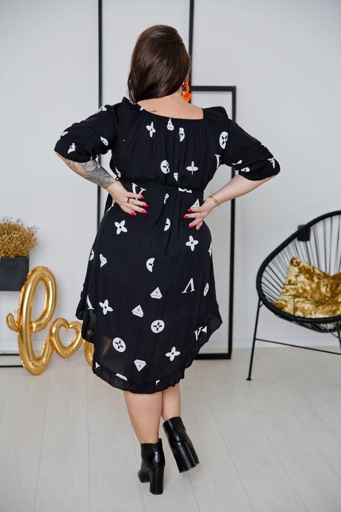 Sukienka LATICA Plus Size Wzór 1