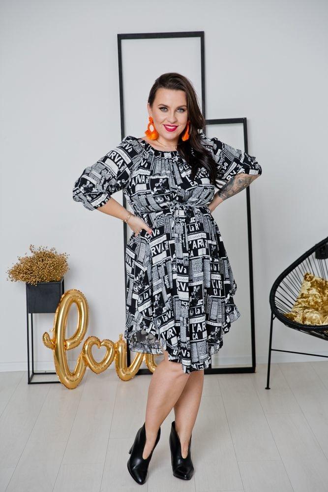 Sukienka LATICA Plus Size Wzór 3