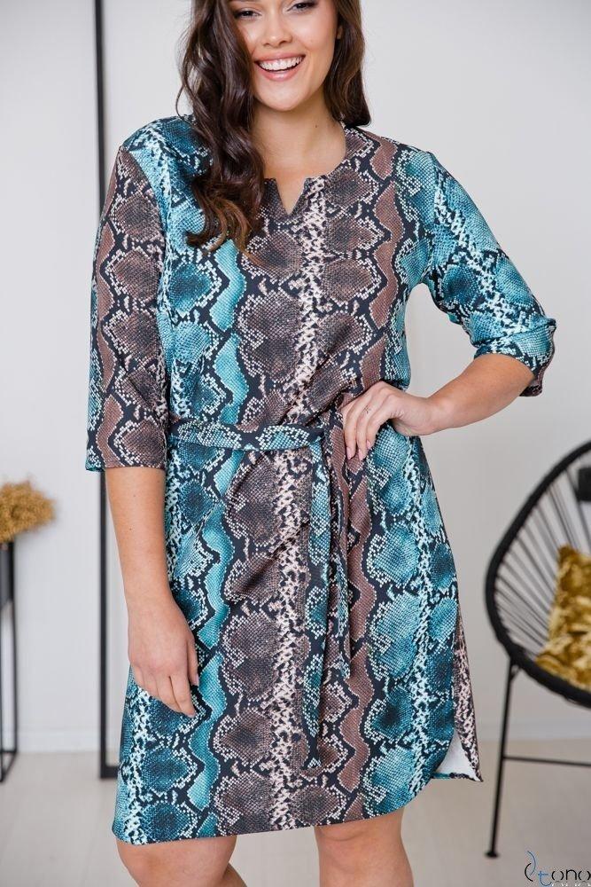 Sukienka LAVAL Plus Size Wzór 4