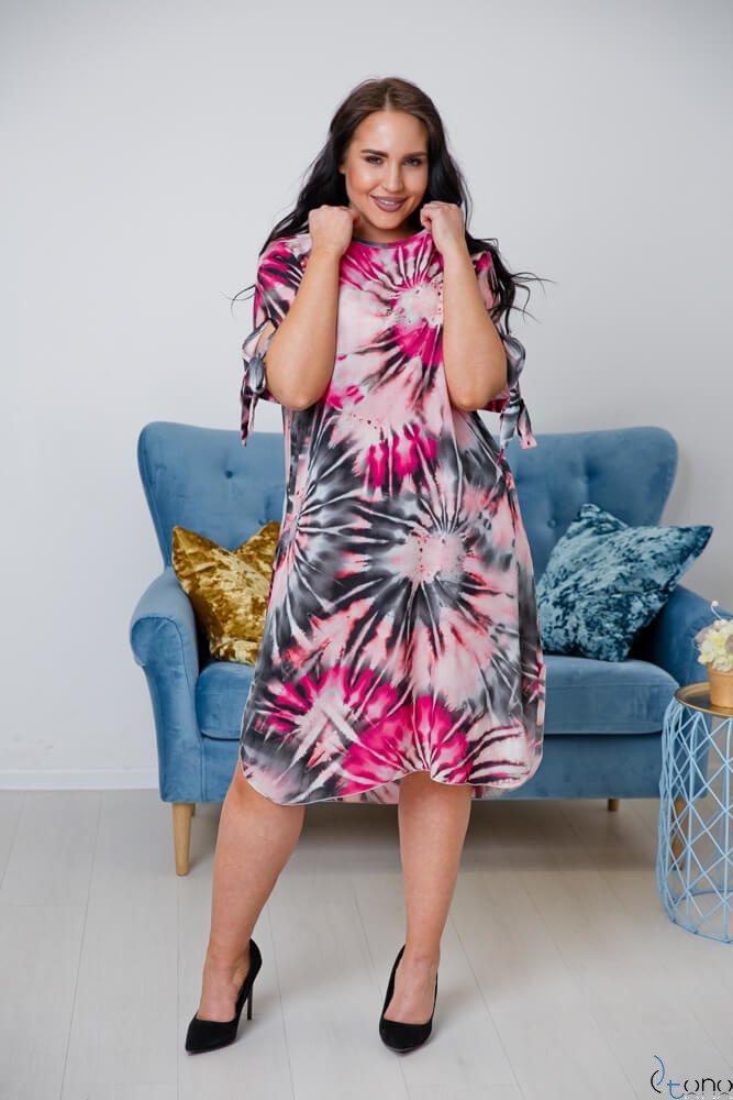 Sukienka MASITA Plus Size Wzór 2