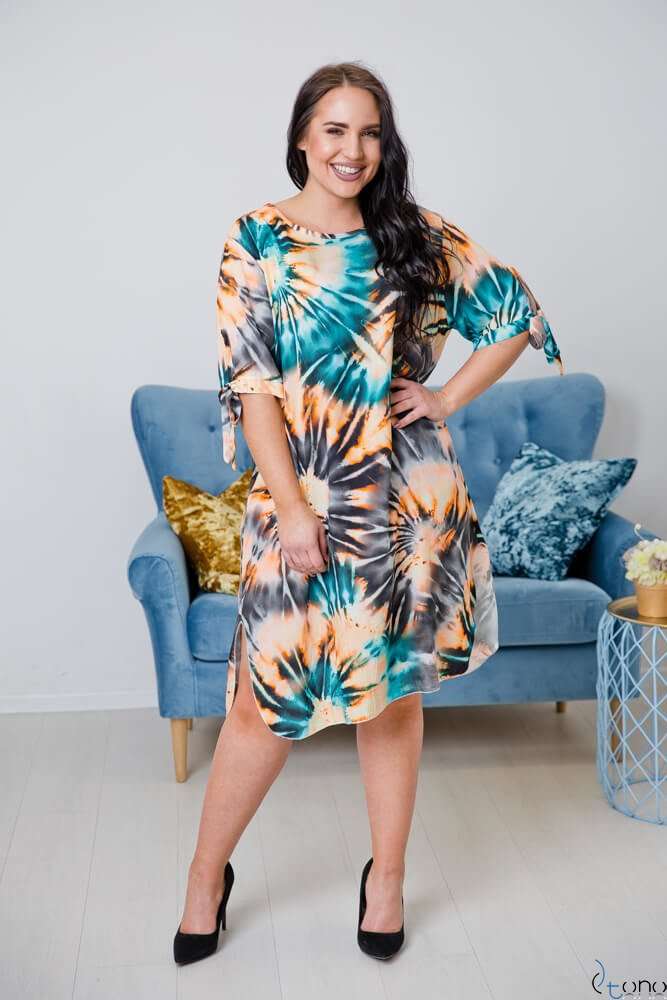 Sukienka MASITA Plus Size Wzór 3