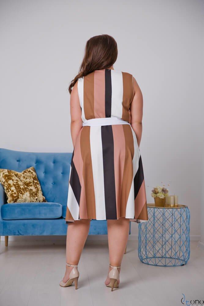 Sukienka PASMIRA Plus Size Wzór 1