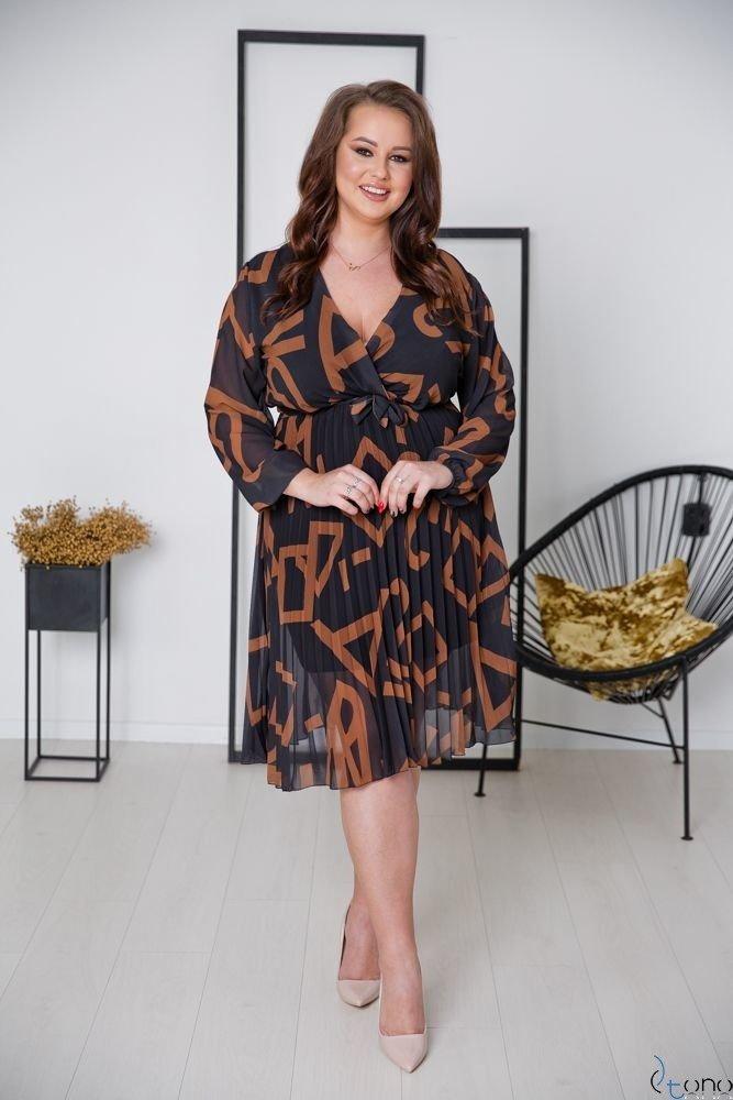 Sukienka PELLINA Plus Size Wzór 3