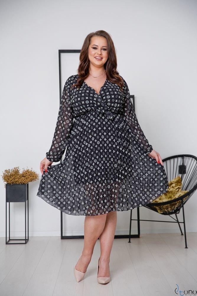 Sukienka PELLINA Plus Size Wzór 4