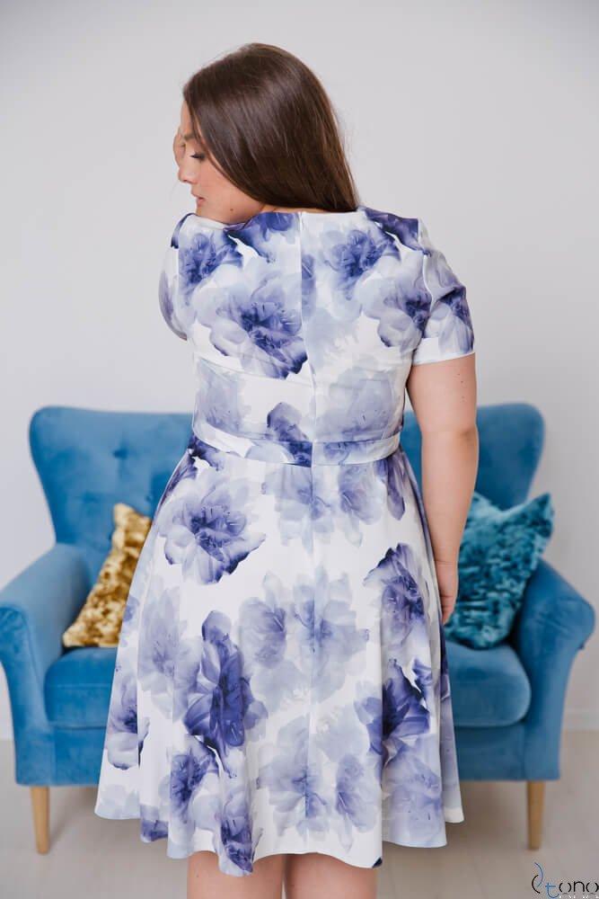 Sukienka ROSITA Plus Size Wzór 16