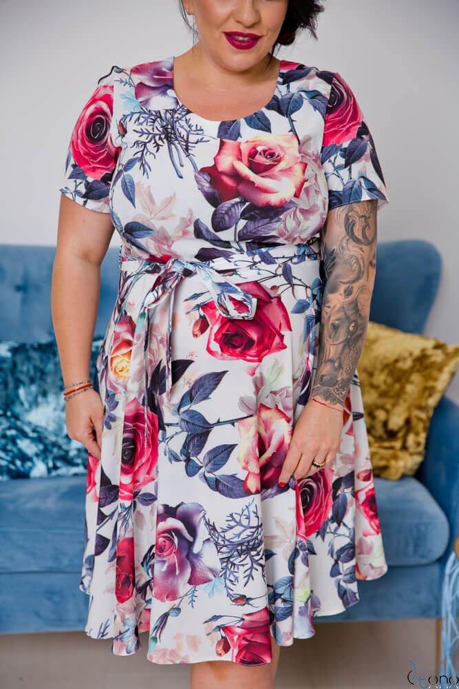 Sukienka ROSITA Plus Size Wzór 8