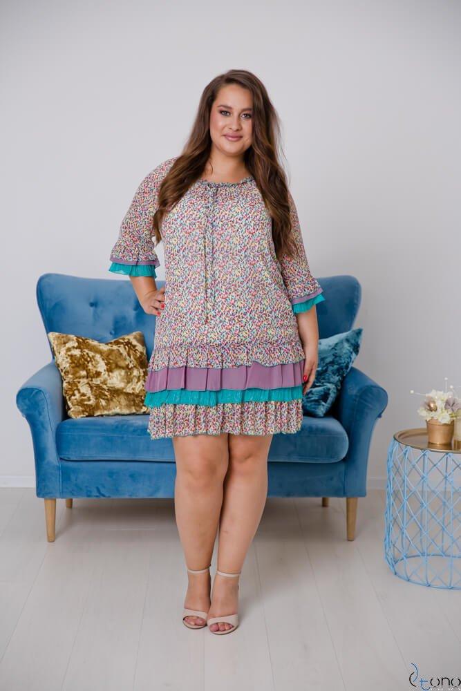 Sukienka SETTERA Plus Size Wzór 1