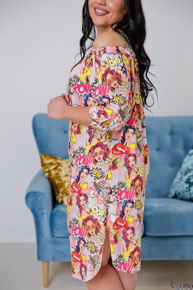 Sukienka SOPRANA Plus Size Wzór 1