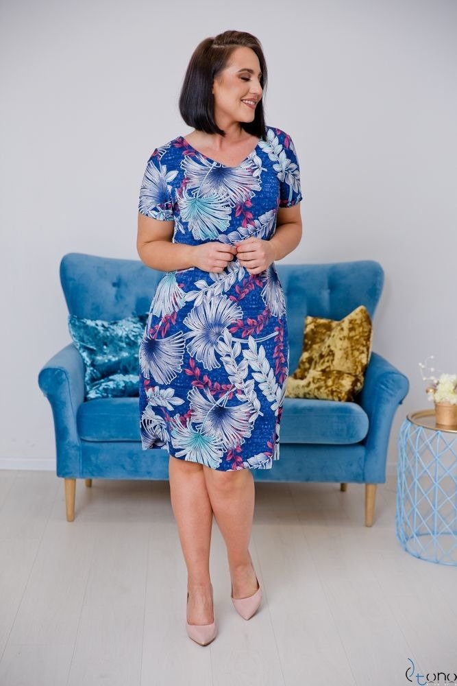 Sukienka STAMPINA Plus Size Wzór 12