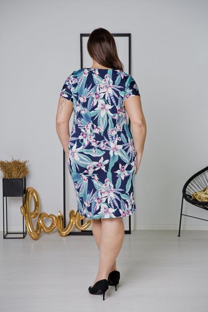 Sukienka STAMPINA Plus Size Wzór 35
