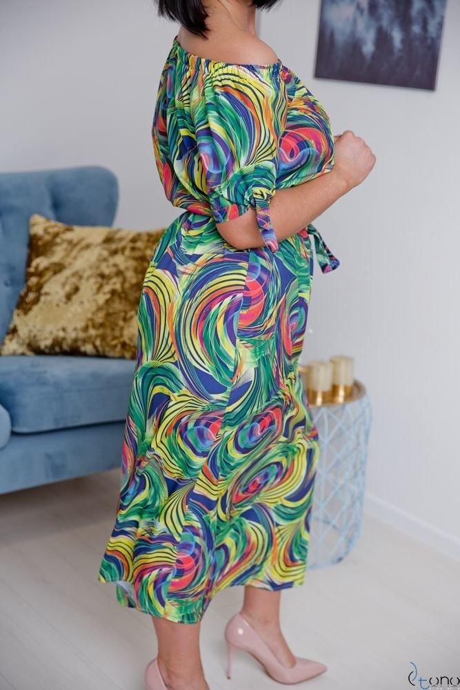 Sukienka TROPICANA Plus Size Wzór 3