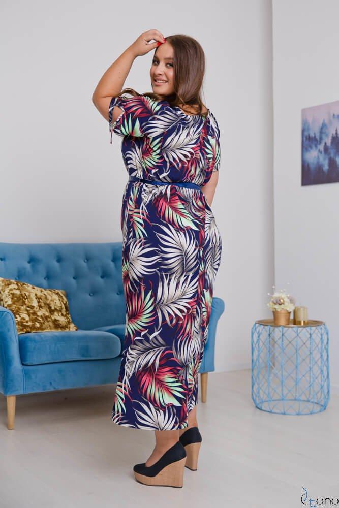 Sukienka TROPICANA Plus Size Wzór 5