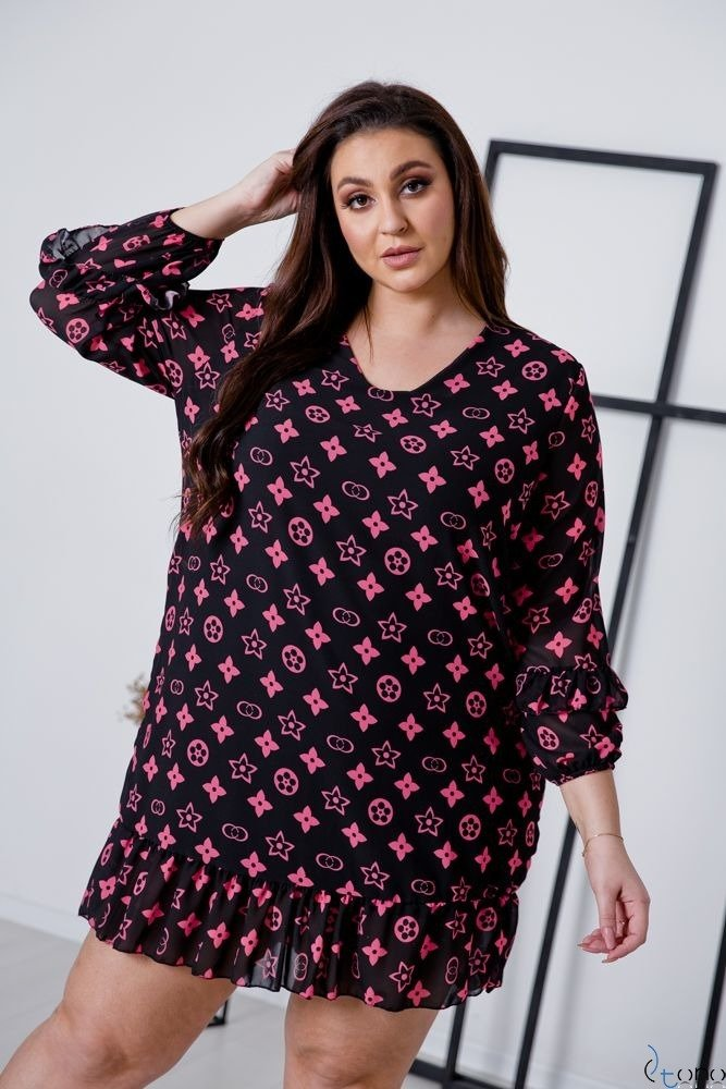 Sukienka VENNEA Plus Size Wzór 3