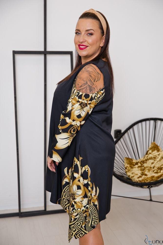 Sukienka VIRAGO Plus Size Wzór 10