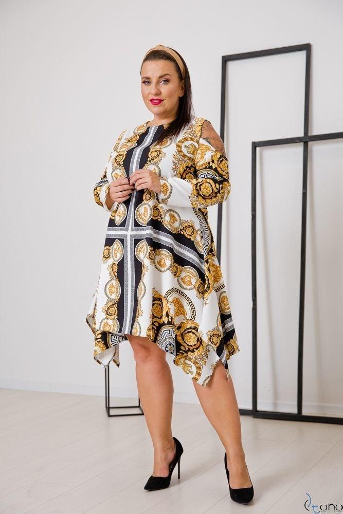 Sukienka VIRAGO Plus Size Wzór 8