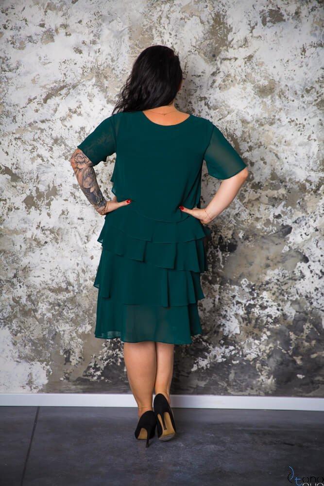 Zielona Sukienka ORINA Plus Size