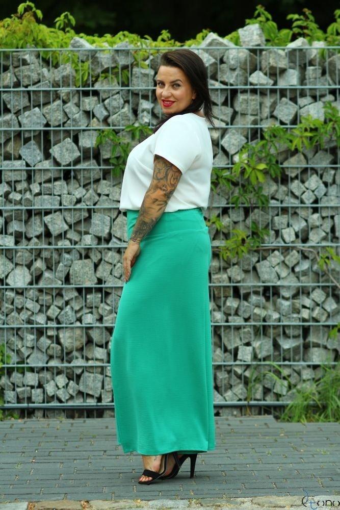 Zielone Spodnie MISSY Plus Size
