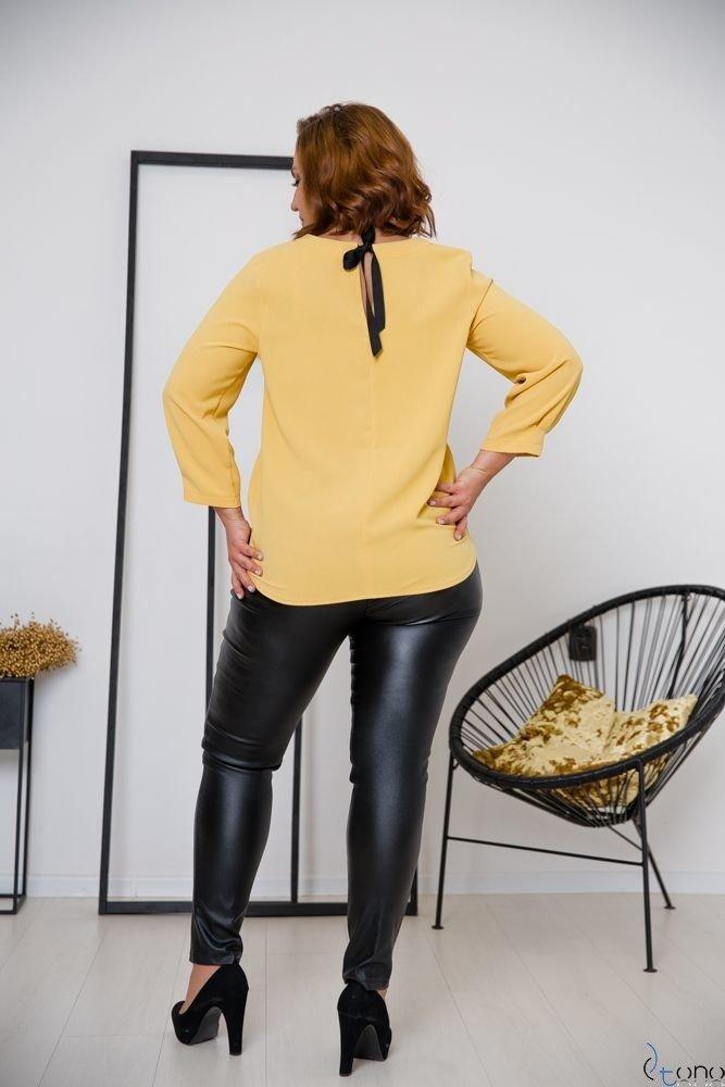 Żółta Bluzka AUROSIA Plus Size