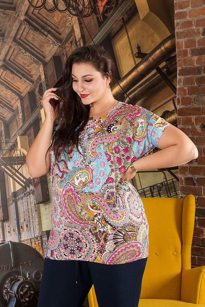 Bluzka AMELIA Plus Size wzór 4