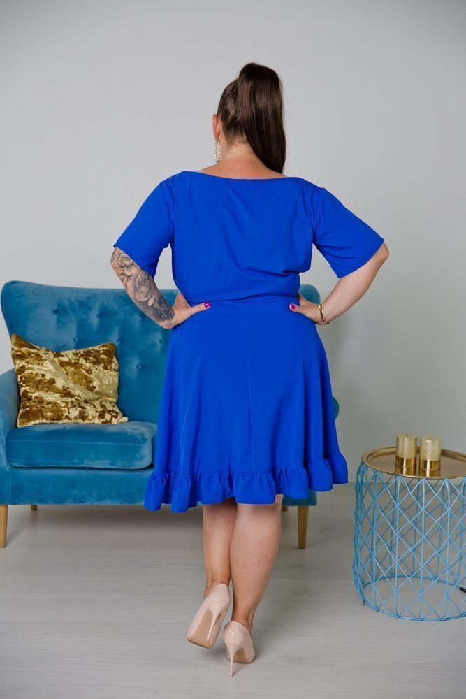 Chabrowa Sukienka MADA Plus Size