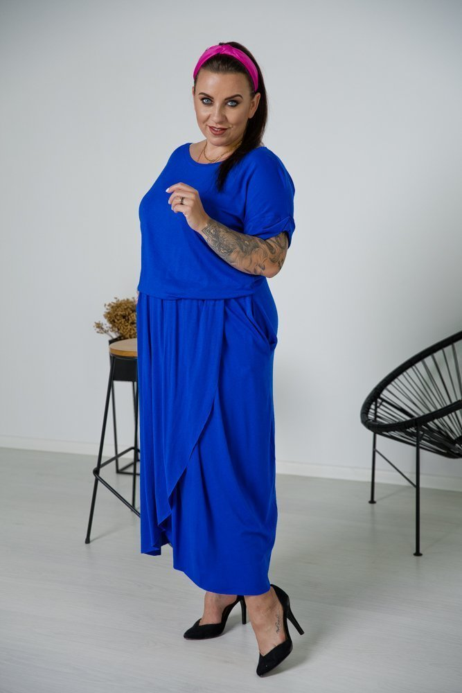 Chabrowa Sukienka TULIPA Plus Size