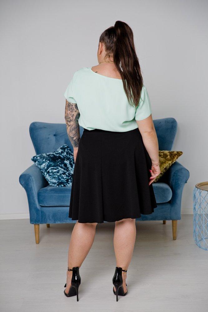 Czarna Spódnica NINA Plus Size