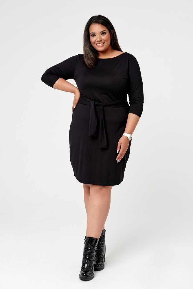 Czarna Sukienka MOCTAIL Plus Size