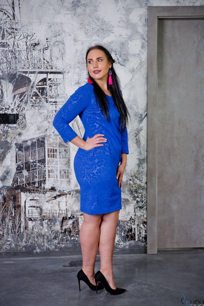 Chabrowa Sukienka ROZALY Plus Size