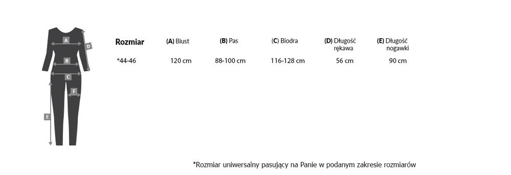 Granatowa Kombinezon FRONDA Wizytowy Damski Plus Size