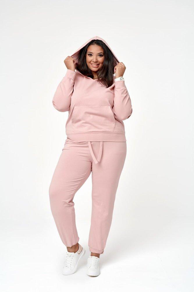 Różowy Dres GIMMIE Plus Size