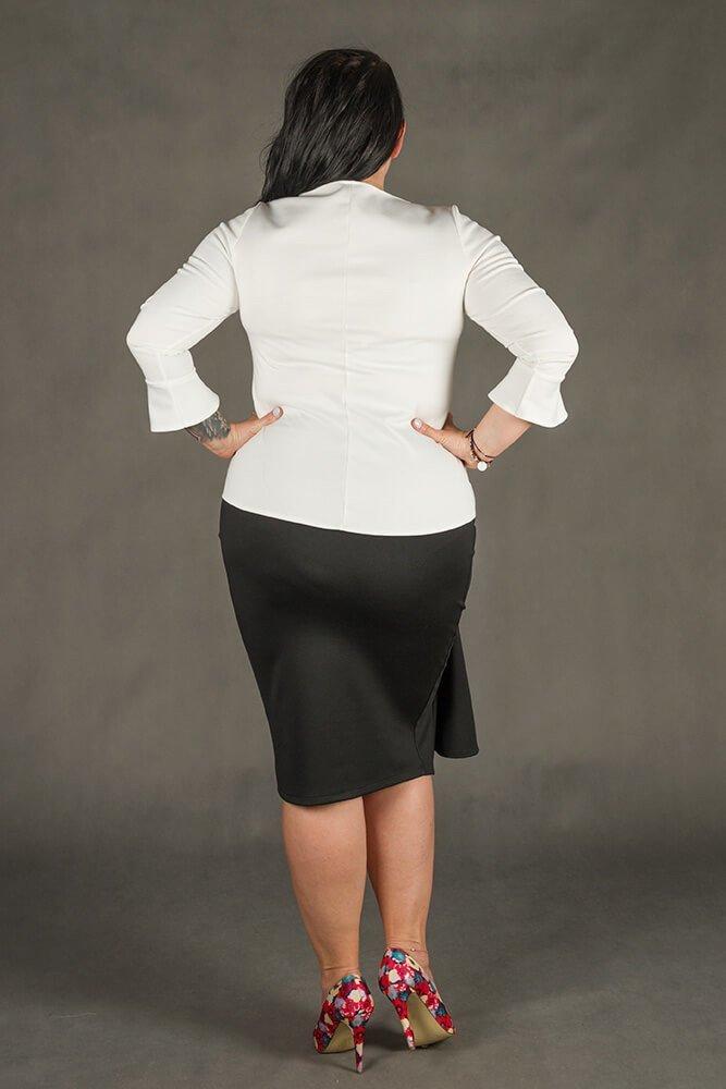 Spódnica LOPEZ Ołówkowa Plus Size