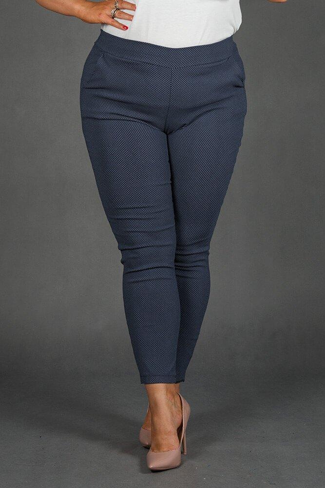 Spodnie AZURO Plus Size wzór 2