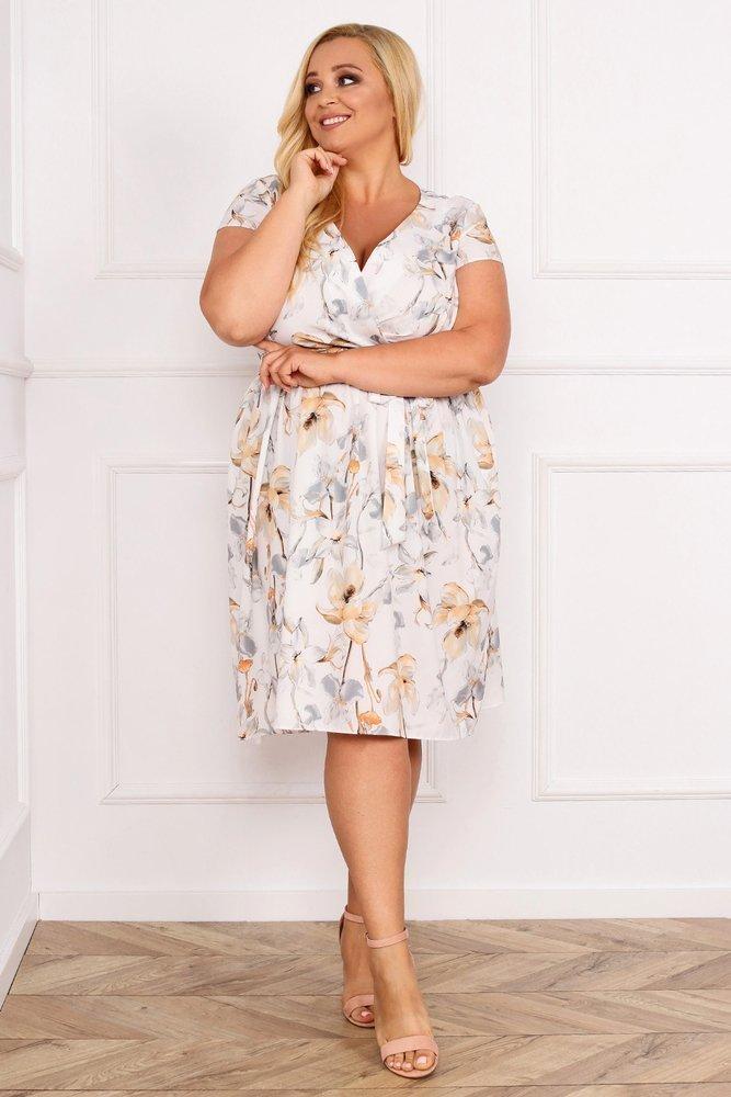 Sukienka AGOSTA Plus Size Wzór 11
