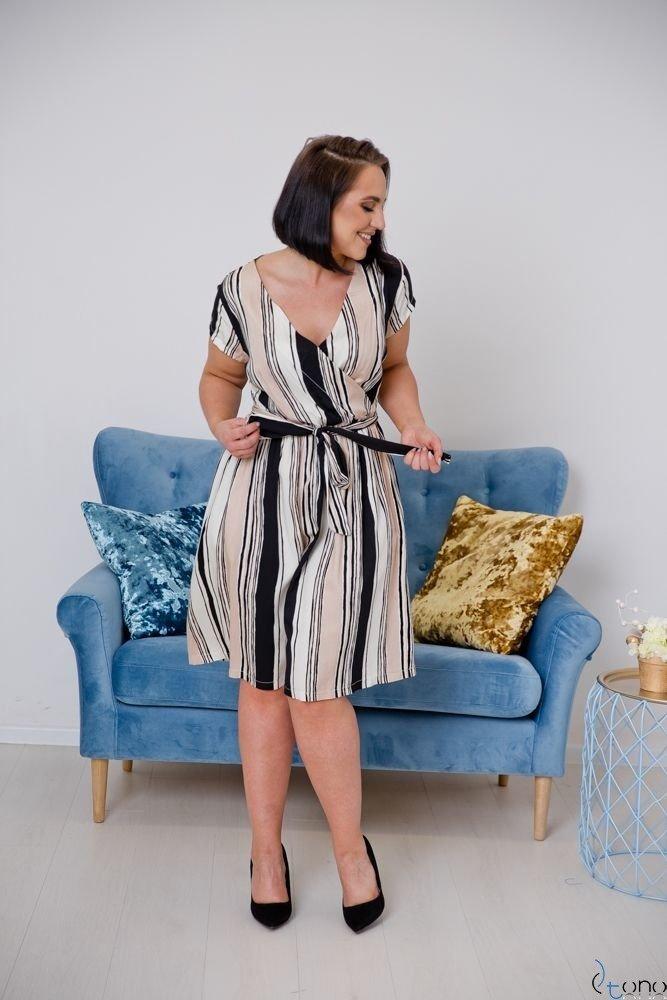 Sukienka AGOSTA Plus Size Wzór 7
