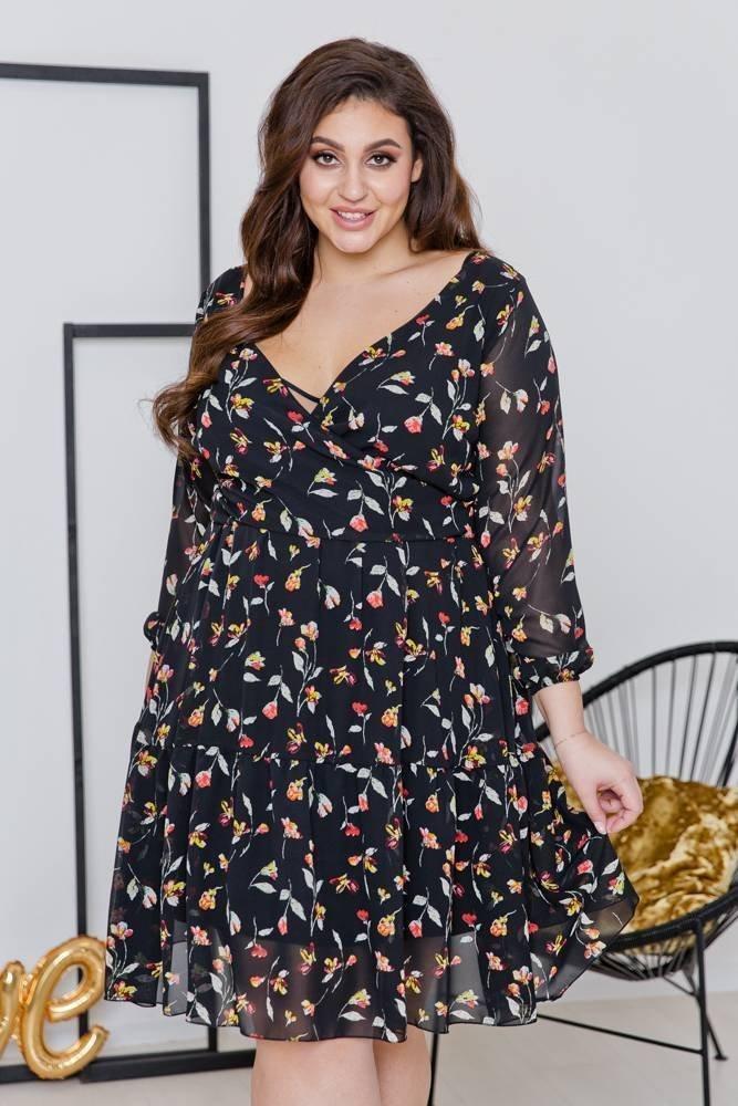 Sukienka ASPYN Plus Size Wzór 2