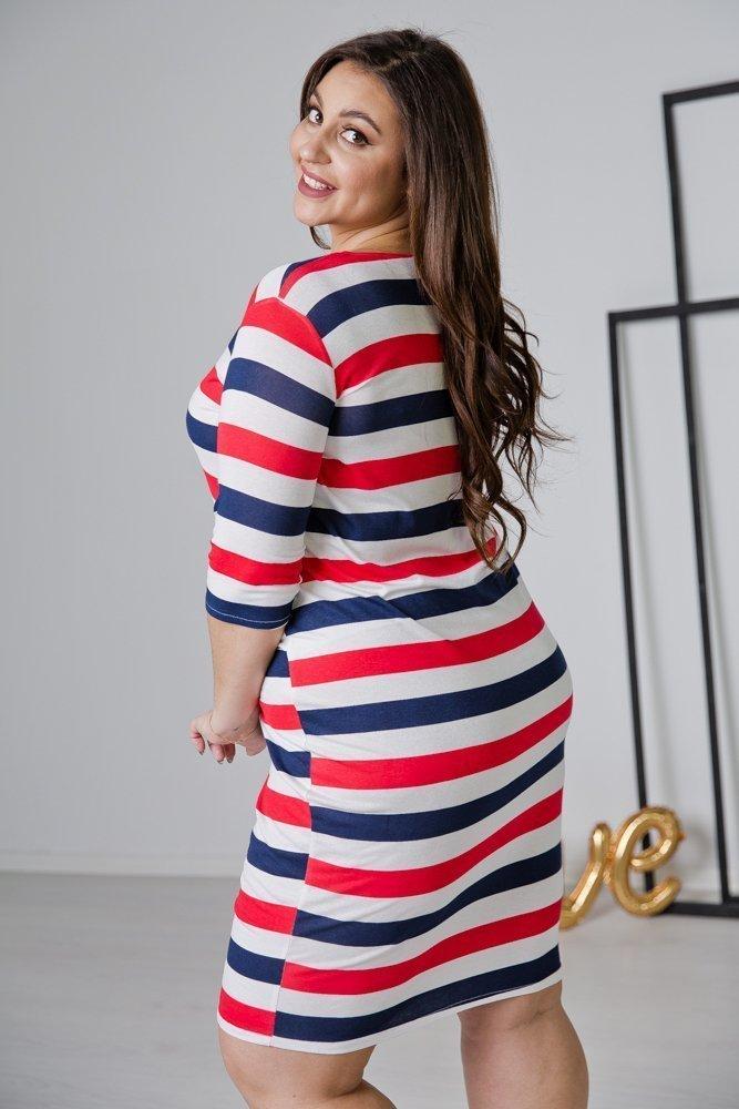 Sukienka CALONA Plus Size Wzór 4