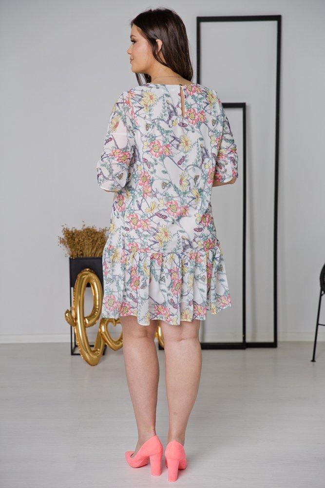 Sukienka ESTI Plus Size Wzór 10
