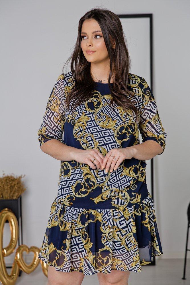 Sukienka ESTI Plus Size Wzór 13