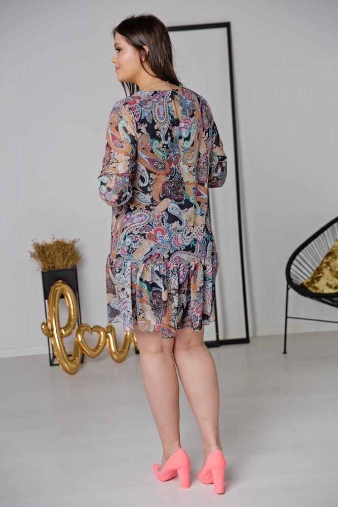 Sukienka ESTI Plus Size Wzór 16