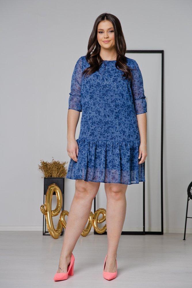 Sukienka ESTI Plus Size Wzór 17