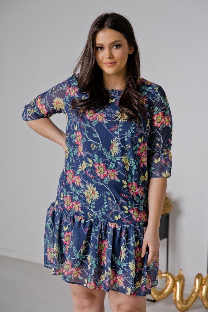 Sukienka ESTI Plus Size Wzór 19