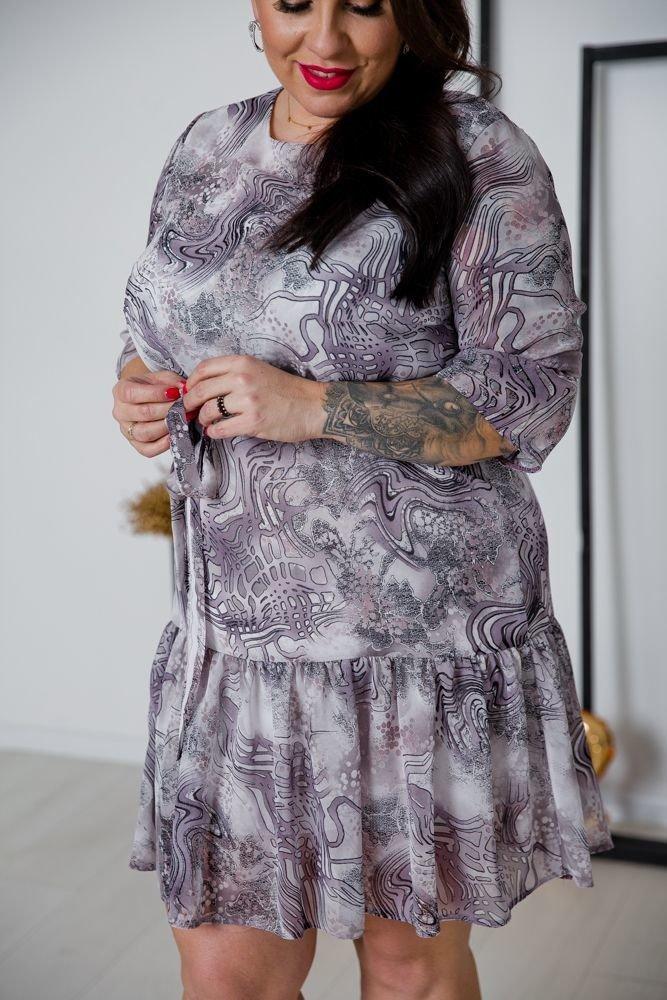 Sukienka ESTI Plus Size Wzór 7