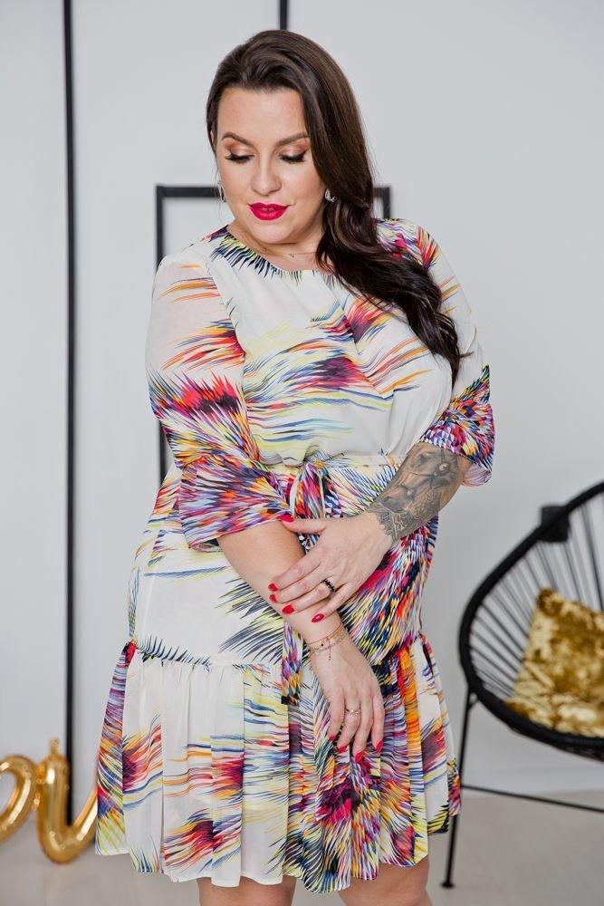 Sukienka ESTI Plus Size Wzór 8