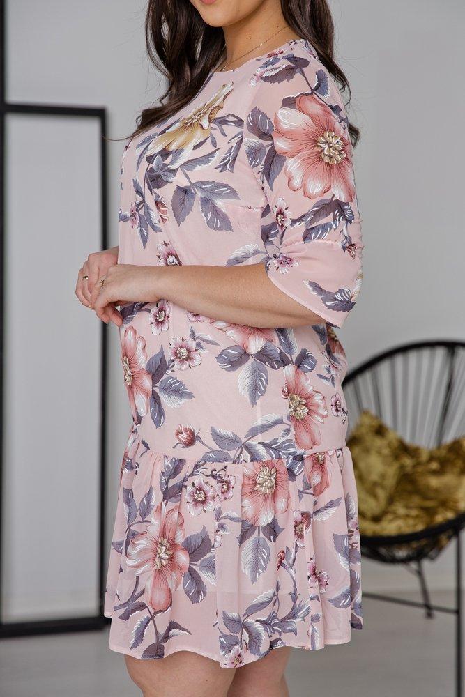 Sukienka ESTI Plus Size Wzór 9