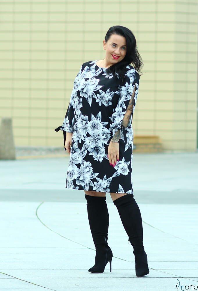 Sukienka GRACCIE Plus Size wzór 2