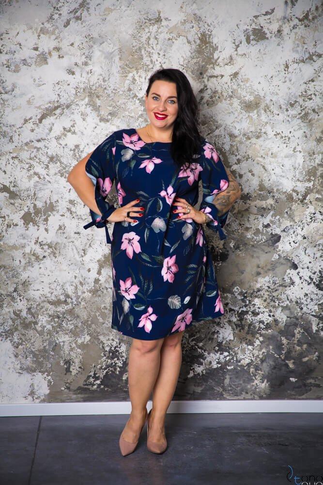 Sukienka GRACCIE Plus Size wzór 9