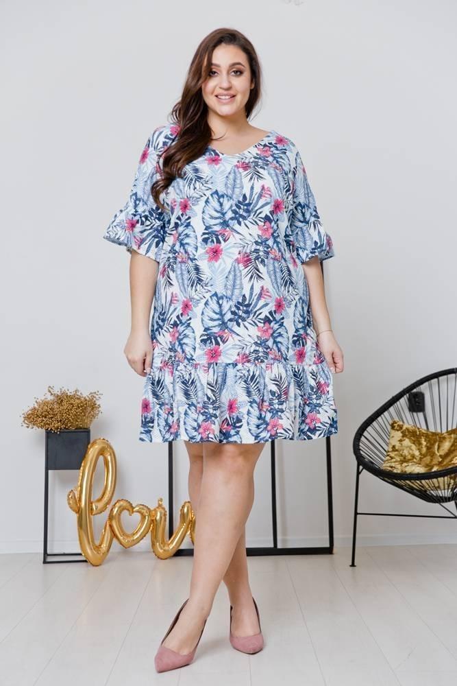 Sukienka HOLI Plus Size Wzór 2