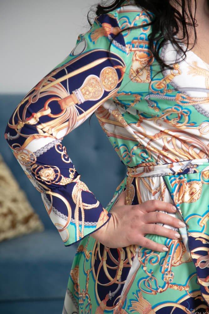 Sukienka PALOMA Plus Szie Wzór 1
