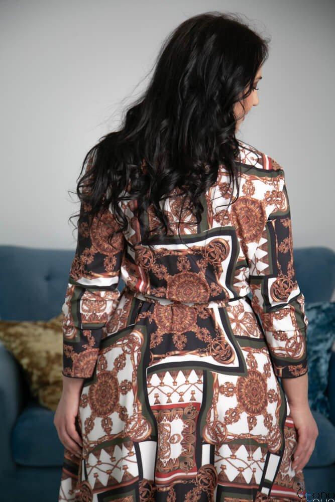 Sukienka PALOMA Plus Szie Wzór 2